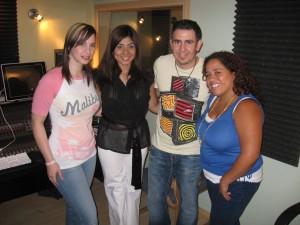Christine DClario, Susana Rodriguez, Ricardo Rodriguez e Ingrid Rosario