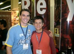 David Lugo con Emmanuel Espinoza (ROJO)